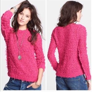 Free People September Fuzzy Sweater (NWT)